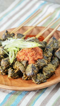 Balado Lung Satay – The Most Beautiful Recipes Easy Meal Prep, Healthy Meal Prep, Gizzards Recipe, Asian Recipes, Healthy Recipes, Malay Food, Indonesian Cuisine, No Cook Meals, Food Hacks