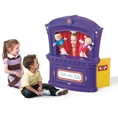 Step2 Puppet Theater Purple « Blast Groceries