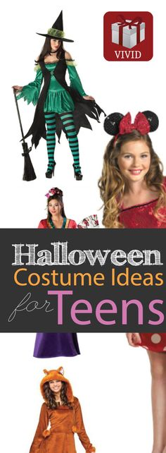 Halloween Costume Ideas for Teen Girls.