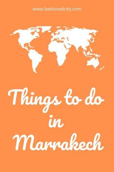 Discover the top things to do in Marrakech, Morocco! We tell you everything about Marrakech's hidden gems, museums, nightlife and restaurants! Visit Marrakech, Marrakech Travel, Morocco Travel, Africa Travel, Marrakech Morocco, Best Backpacking Packs, Ancient Greek Architecture, Gothic Architecture, Next Holiday