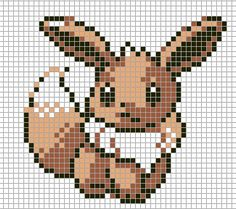 Pokemon from the game Pokemon yellow. Placed in grid format to make it easier for pixel-arters to create on minecraft, in hama form, cross-stitch or other form of non-isometric pixel art. Colour en...                                                                                                                                                                                 Plus