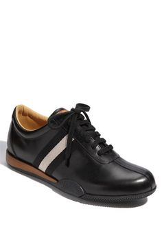 Bally 'Freenew' Leather Sneaker (Online Only) Casual Sneakers, Leather Sneakers, Sneakers Fashion, Casual Shoes, Me Too Shoes, Men's Shoes, Mens Boots Fashion, Fashion Suits, Crutches