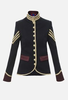 Limited Edition Women's blazers and jackets. Jackets Made in Spain for women THEEXTREME COLLECTION Military Jacket Women, Military Looks, Military Style Jackets, Blazer Jackets For Women, Military Inspired Fashion, Military Fashion, Beauty Uniforms, Blazers, Uniform Design