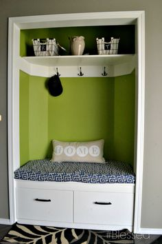 convert Your front entry closet into a more usable space,