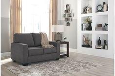 Charcoal Zeb Twin Sofa Sleeper View 1