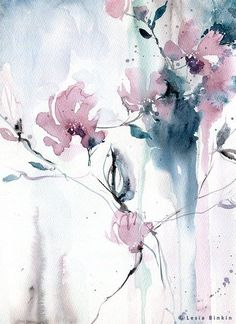 Aquarell How To Choose A Pot Rack For Your Kitchen Do you want to free up some kitchen cabinet space Abstract Flowers, Abstract Watercolor, Watercolor And Ink, Watercolor Flowers, Watercolor Paintings, Watercolours, Abstract Art, Painting & Drawing, Large Painting