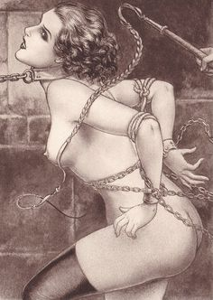 Vintage erotic art painting really. join