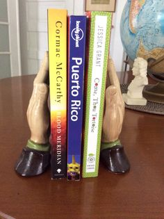 Old Praying Hands Bookends