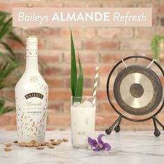 Grab your yoga buddy and a bottle of NEW Baileys Almande – our dairy free, gluten free, and vegan almondmilk liqueur –to mix up a blissful, post-yoga Baileys Almande Refresh cocktail. Just pour 3 oz of coconut water and 3 oz of Baileys Almande over ice and enjoy. Namaste!