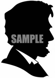Abe Lincoln Silhoutte