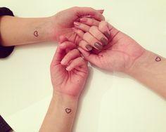 Little heart tattoos
