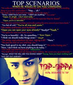 P scenario. Big Bang Memes, Big Bang Kpop, Daesung, Bigbang, Big Bang Scenarios, Top Choi Seung Hyun, Nerd Problems, Pop Bands, Korean Artist