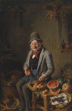 Hermann Kern. The Fruit Trader.