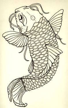 Koi tattoos have long been symbol of strength of masculinity.