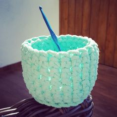 fajna.eva Mint  #basket #kurv #cottonrope #cottoncord #decoration #homedecor #sznurekbawełniany #sznurek #handemade #crochet #heklet #crochetaddict #instacrochet #instahekle #interior #interiores #strikkedilla #stricken #designing #inspiration #instapic #photographylovers #photograph #instalike #instalikes #instadaily #knittingfun #knitter #DIY #hekledilla