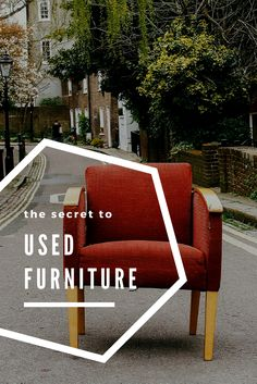 Are you worried about bringing used furniture into your home? Don't be, just read our guide all about cleaning used furniture! Upholstery Cleaning, Furniture Cleaning, How To Clean Furniture, Furniture Upholstery, Outdoor Chairs, Outdoor Furniture Sets, Outdoor Decor, How To Clean Carpet, Cleaning Hacks