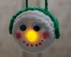 00000Light Up Your Christmas Tree This Year With These Lighted Ornaments. Add some crochet cuteness to your holidays this year with these lighted ornaments.  Crochet several for added lights to your tree or add them to other pieces of your holiday decorating for added personality and charm.  Each ornament below has a link to some …