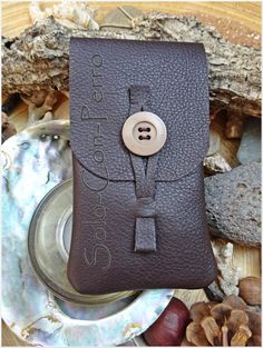 leather purse for smartphones