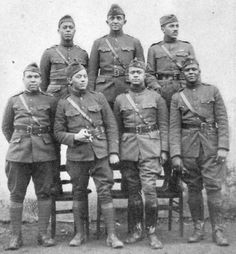 World War I African American soldiers. American Veterans, American War, American Soldiers, African American History, Native American, Triple Entente, World War One, First World, History Books