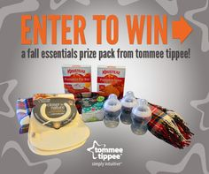 We're Parents!?: tommee tippee Fall Essentials Giveaway