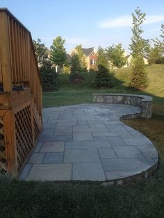Put A Fire Pit On This And It Would Be Perfect! Cement PatioConcrete ...