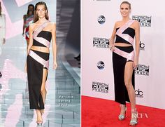 Heidi Klum In Versace – 2014 American Music Awards