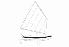 """Joel White's Nutshell Pram is over 15 years old, but it is still as fresh as ever. If you have an urge to build your own boat...    9'6"""" x 4'5"""" is oversize    ..."""
