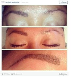 Are eyebrow extensions the new way of getting brows on fleek?