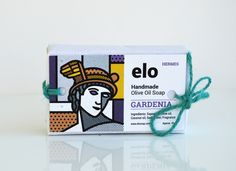 Designer: Mike Karolos  Project Type: Produced, Commercial Work  Client: Elo soaps  Location: Athens, Greece  Packaging Contents: Soaps  P...