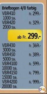 Wir drucken Ihre Briefbögen auf 80gr / m2 Hochweiss Premium - Papier. Preise und Varianten im Bild ersichtlich. Anfrage per Mail unter r.giger@ansatz-amriswil.ch Marketing, Paper, Printing