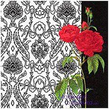 Papier - ruže - 4582341_