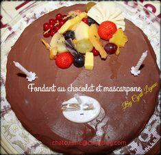 Pancakes, Birthday Cake, Breakfast, Messages, Kitchens, Chocolate Fondant, Mascarpone, Morning Coffee, Birthday Cakes