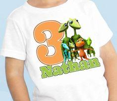 Dinosaur train Birthday personalized tshirt shirt by maryahdesigns, $12.00