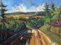 Landscape by Sophie Levesque