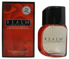 Realm By Erox Corporation For Men. Eau De Cologne Spray 3.4 Oz. by Erox Corporation. $39.99. Packaging for this product may vary from that shown in the image above. This item is not for sale in Catalina Island. Launched by the design house of Erox in 1993, REALM COLOGNE is classified as a sharp, oriental, woody fragrance. This masculine scent possesses a blend of mandarin, orange, berry, ginger and watery notes. It is recommended for daytime wear.. Save 50%!