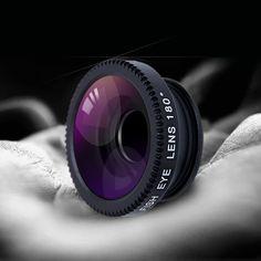 魚眼レンズ3で1ミニクリップオン光携帯電話カメラレンズキット180度魚眼レンズ+ 101度広角+ 10xマクロレンズ