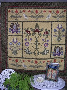 William Morris Revisited by William Morris quilts and more, via Flickr
