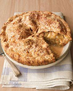 Cheddar Crusted Apple Pie - from Martha Stewart