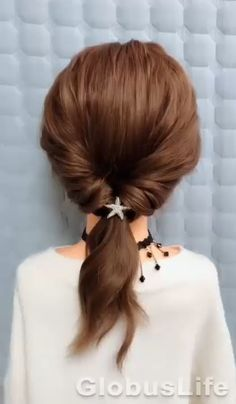 Tied Up Hairstyles, Easy Hairstyles For Long Hair, Braids For Long Hair, Diy Hairstyles, Wedding Hairstyles, Medium Hair Braids, Hairstyles Videos, Baddie Hairstyles, School Hairstyles