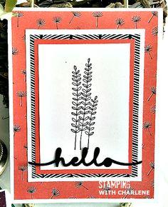 wildflower fields designer series paper from stampin up
