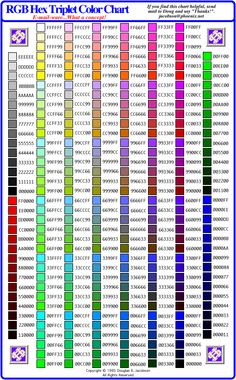 ColorsTable Color From Around The Web