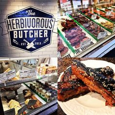 """Just wrote up a review on The Herbivorous Butcher the first vegan butcher shop in the United States. Link is in my bio but you can get a great selection of vegan """"meats"""" and cheeses that pleased this meat-eater. Without a doubt check them out."""