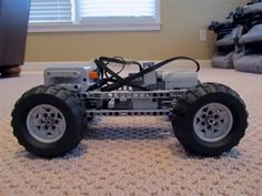 LEGO® Technic: AWD PF Chassis [+ Instructions] - YouTube