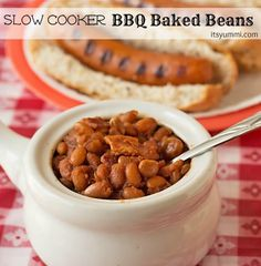 Slow+Cooker+BBQ+Baked+Beans+and+Chicago+Style+#AmericanCraft+Sausage+Recipes+#StartYourGrill+#shop