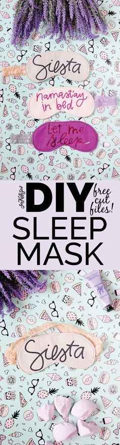 24e2fb910e2 Namast ay in Bed    DIY Sleep Mask Pattern