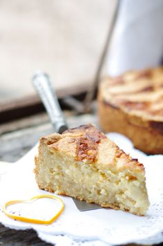 How to make my Nonna's recipe for pastiera napoletana, a traditional Italian Easter ricotta pie. [jar of grano cotto - needed] Italian Pastries, Italian Desserts, Italian Recipes, Italian Foods, Cheesecake Recipes, Pie Recipes, Cookie Recipes, Sweets Recipes, Eater Desserts