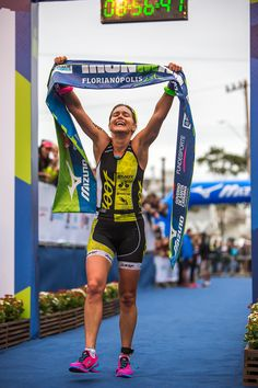 Sara Gross (CAN) WiSP Presenter & Producer. Two-time North American Ironman Champion.