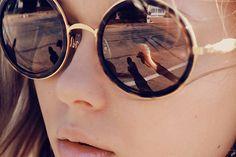 Love mirrored sunglasses for summer