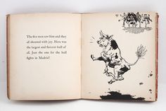 The Story of Ferdinand by Munro Leaf, illustrated by Robert Lawson