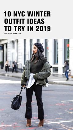 New York winter street style outfits to copy New York Outfits, City Outfits, Night Outfits, New York Winter Outfit, Winter Night Outfit, Winter Layering Outfits, Winter Outfits, Winter Trends, Outfit Trends
